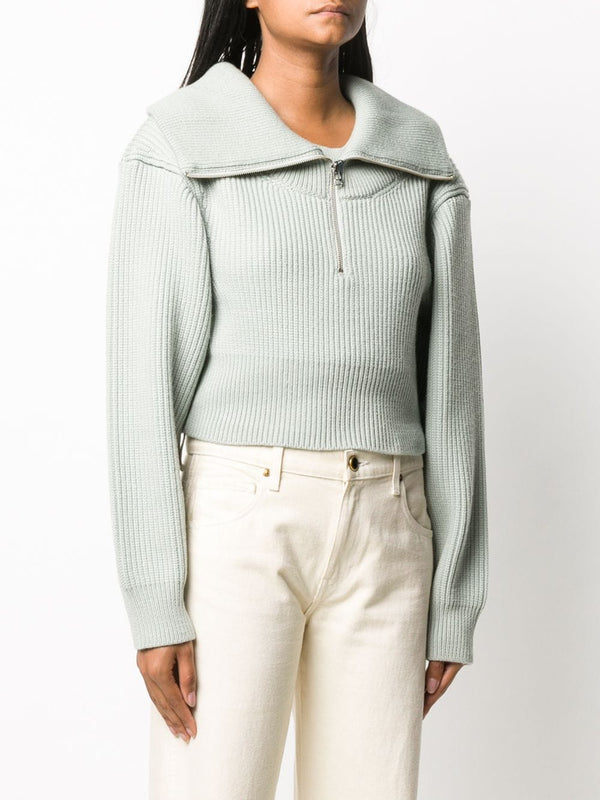 JACQUEMUS La Maille Risoul - Light Green