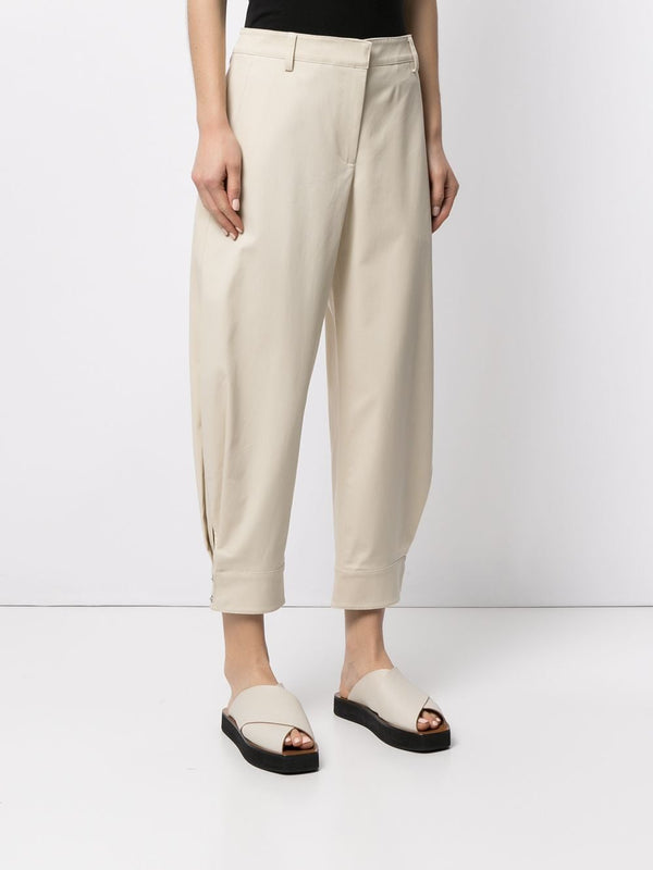 TIBI Organic Cotton Sculpted Pants