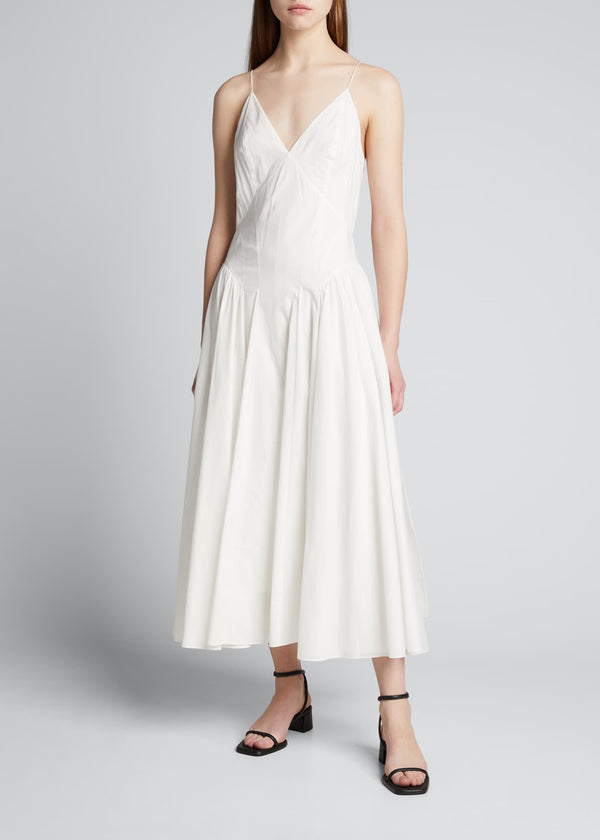 TOVE Solene Poplin Maxi Dress