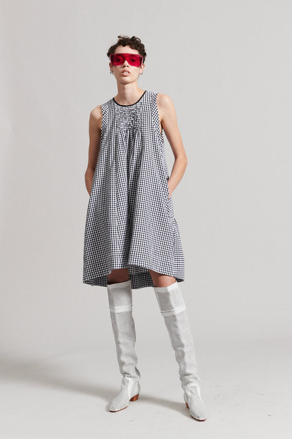 RACHEL COMEY Jib Gingham Dress