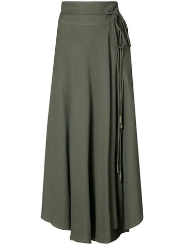 Apiece Apart Rosehip Wrap Skirt