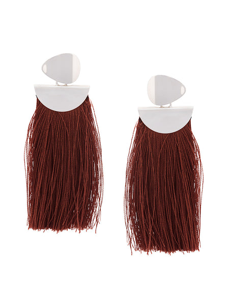 Crater Fringe Earrings