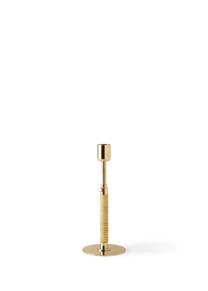 DUCA Candleholders - Polished Brass