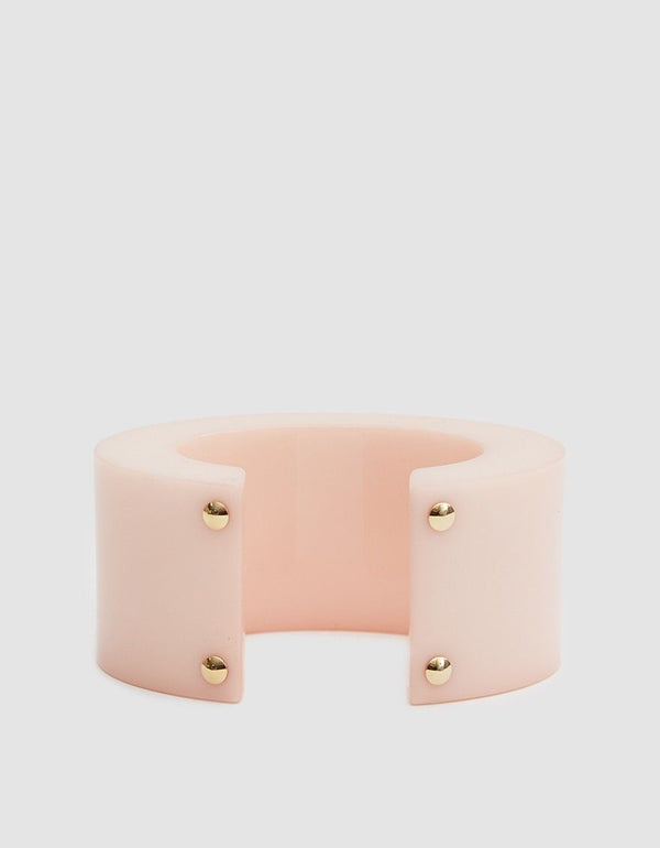 Lizzie Fortunato Postmodern cuff in pale peach