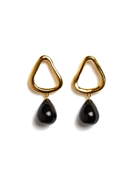 LIZZIE FORTUNATO Alta Drop Earrings
