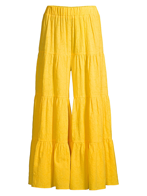 MARA HOFFMAN Shelesea Pant - Yellow