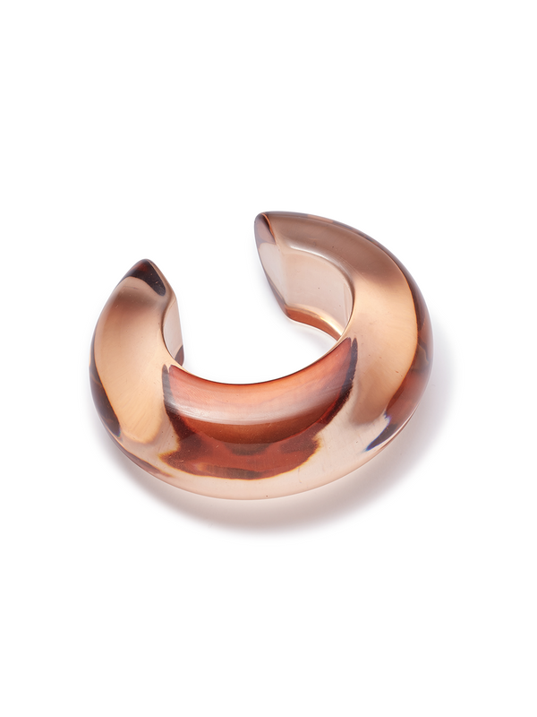 LIZZIE FORTUNATO Arc Cuff in Caramel