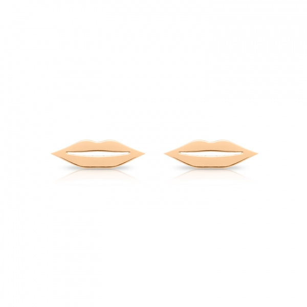 GINETTE NY French Kiss Lips Stud Earrings