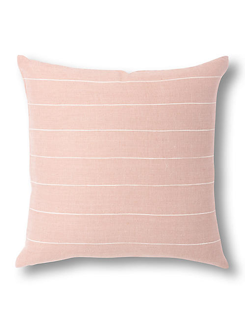 BOLE ROAD Textile Melkam Pillow in Dusty Rose