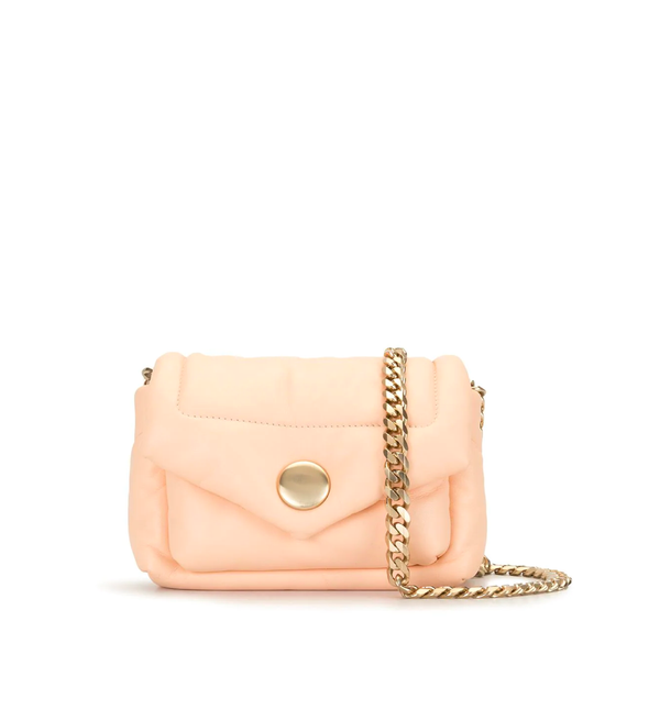PROENZA SCHOULER Small Puffy Napa Peach Shoulder Bag