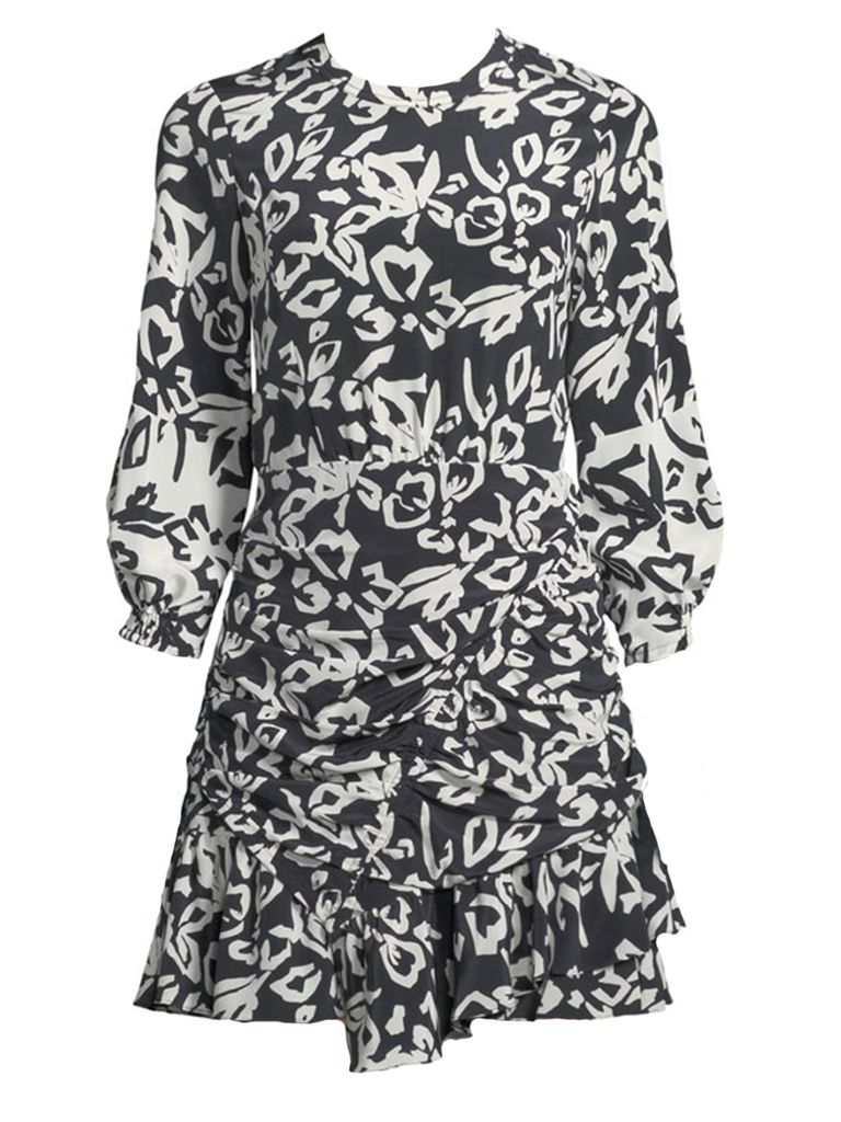 Tanya Taylor BLOCK PRINT MEL DRESS