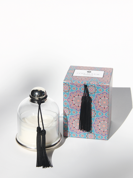 COTE BOUGIE Candle Cloche in Noir Oud