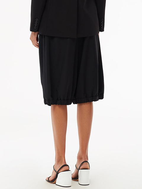 TIBI Tropical Wool Tailored Bloomer