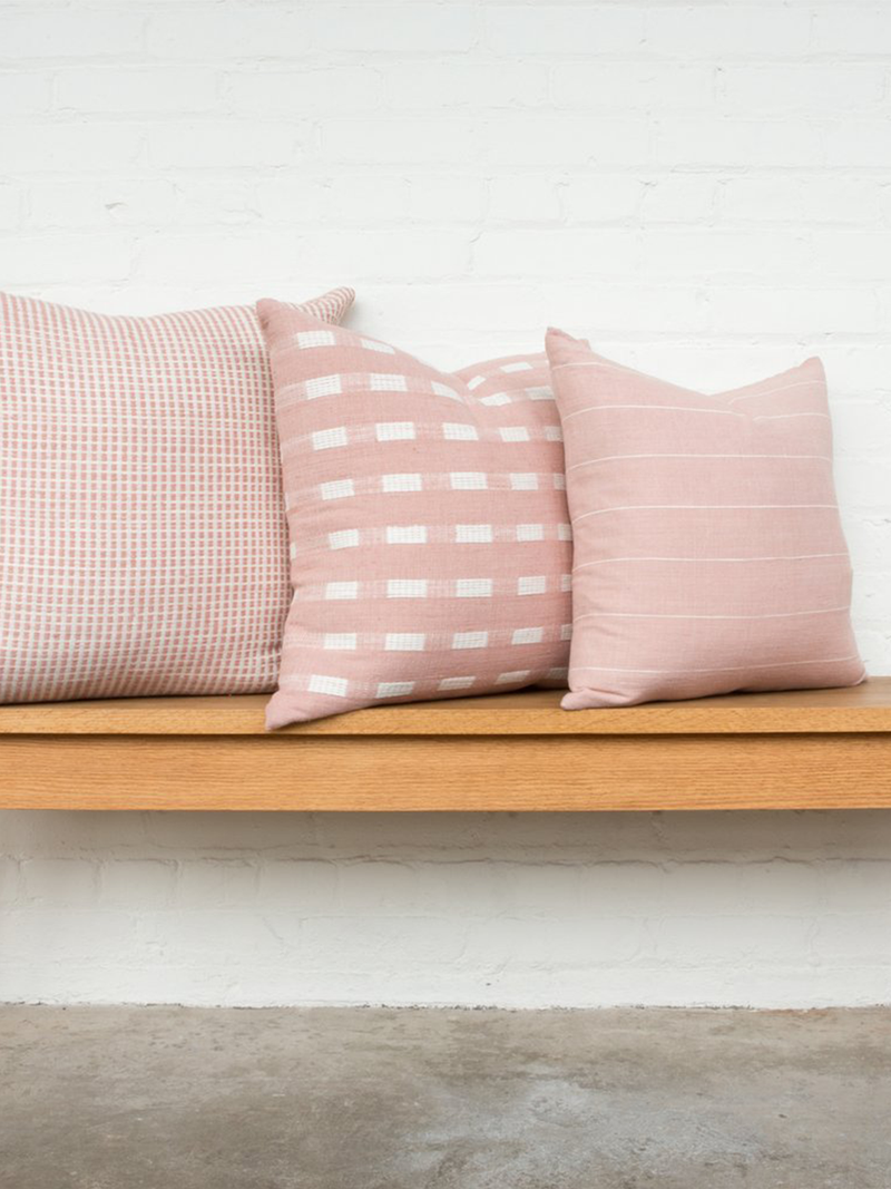Bole Road Berchi Pillow in Dusty Rose