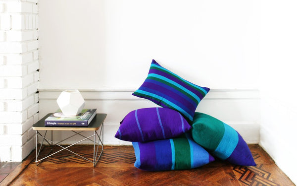 BOLE ROAD Hela Pillow in Cobalt