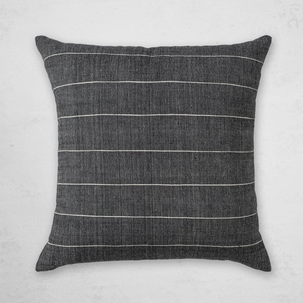 BOLE ROAD Textile Melkam Pillow in Onyx