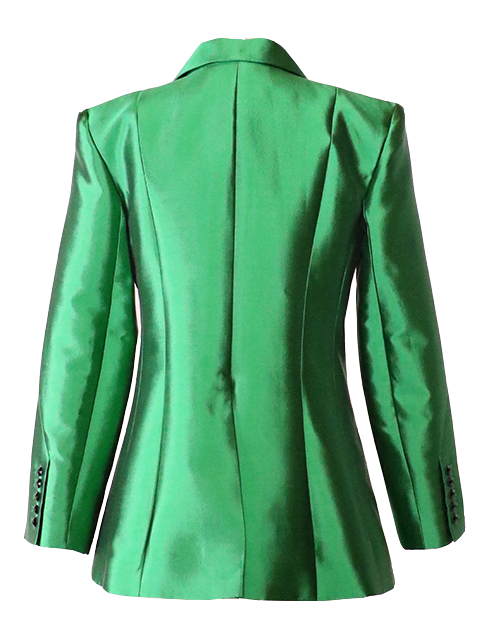 CHRISTOPHER JOHN ROGERS Four Button Suit Jacket - Emerald