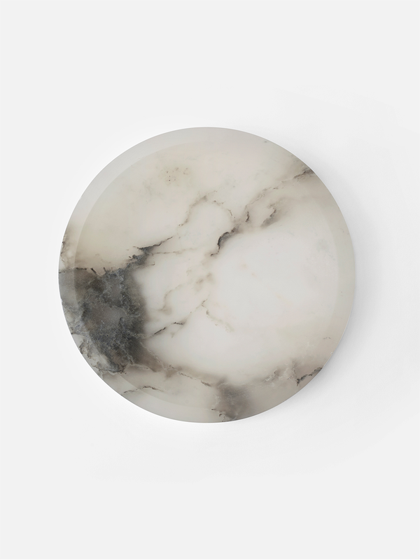 CREATIVE DANES Circular Bowl in Cloud/Stone