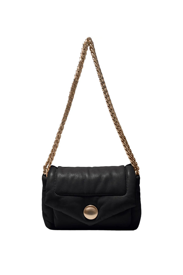PROENZA SCHOULER Small Puffy Napa Black Chain Bag