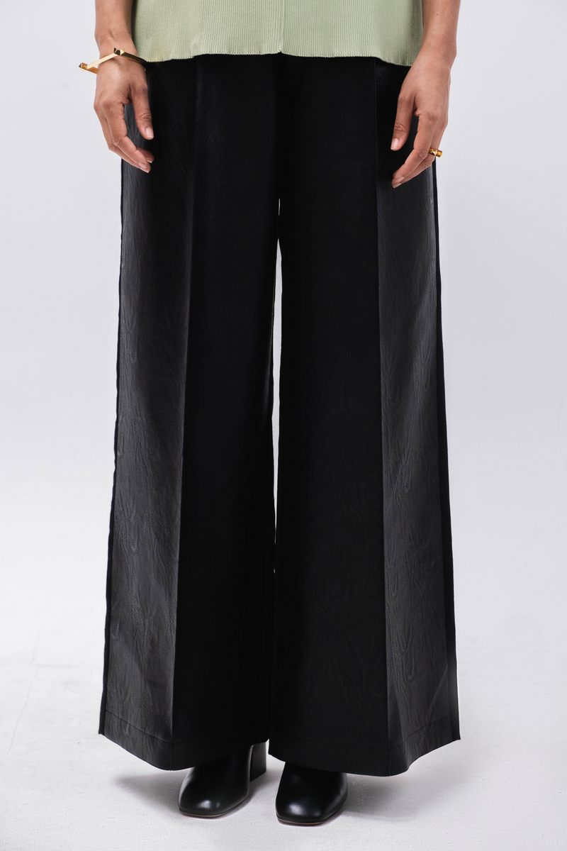 AKIRA NAKA Faye Front Faux Leather Pants