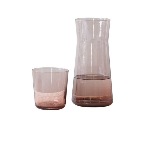 GARY BODKER DESIGNS Carafe and Cup Set / Rose