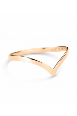 GINETTE NY Wise Ring 18K Rose Gold