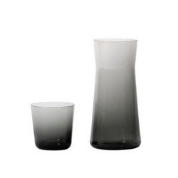 GARY BODKER DESIGNS Carafe and Cup Set / Charcoal