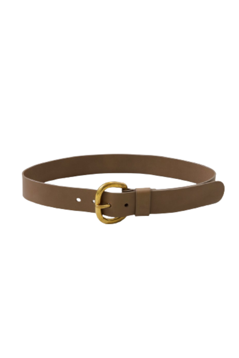RACHEL COMEY Estate Leather Belt - Natural