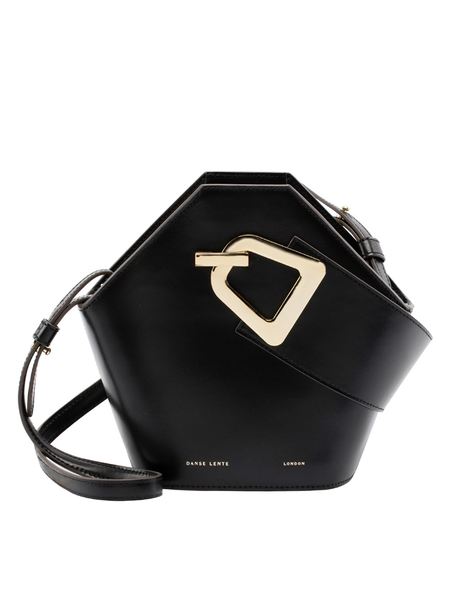 Danse Lente Mini Johnny Black Bucket Bag