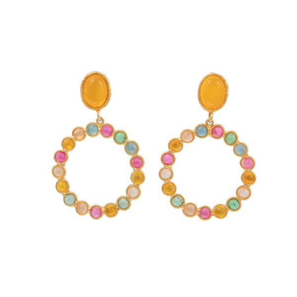 SYLVIA TOLEDANO Happy Colorful Drop Earrings