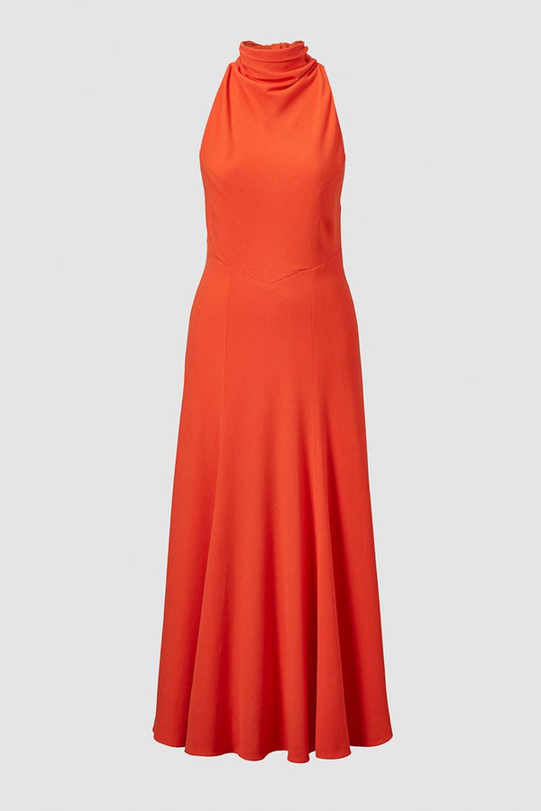 TOVE Emory Halter Midi Dress