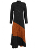 GANNI Silk Jacquard Dress