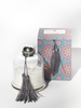 COTE BOUGIE Candle Cloche in Gris Noir