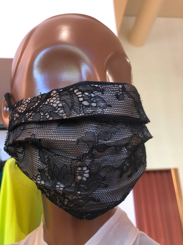 MCMULLEN Rochas Upcycled Lace Face Mask V2