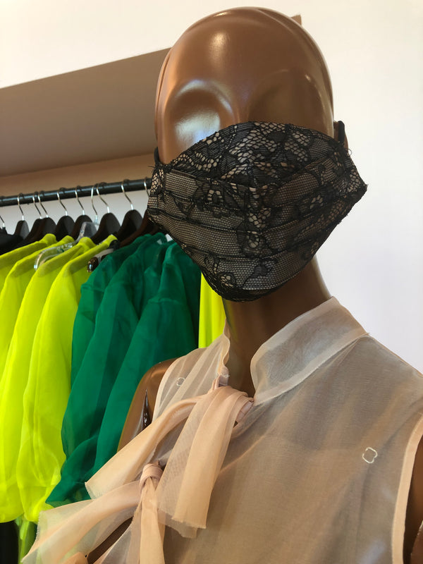MCMULLEN Rochas Upcycled Lace Face Mask