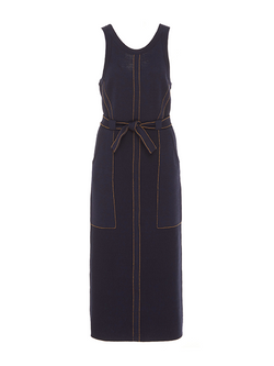 RACHEL COMEY Inhibit Dress - Navy