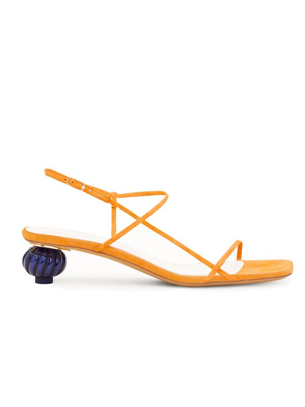 JACQUEMUS Les Sandales Manosque - Orange