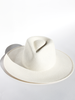 JANESSA LEONE Anouk Bleach-Cream Hat