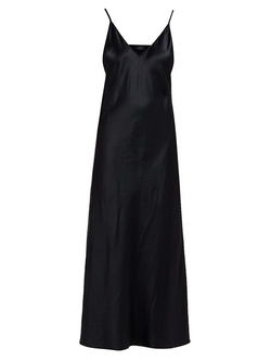 JOSEPH Clea Silk Satin Dress