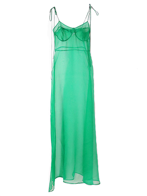 KAMPERETT Rae Dress - Kelly Green