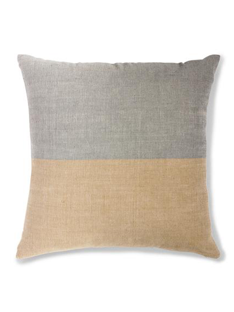 BOLE ROAD Textile Karo Pillow in Sable