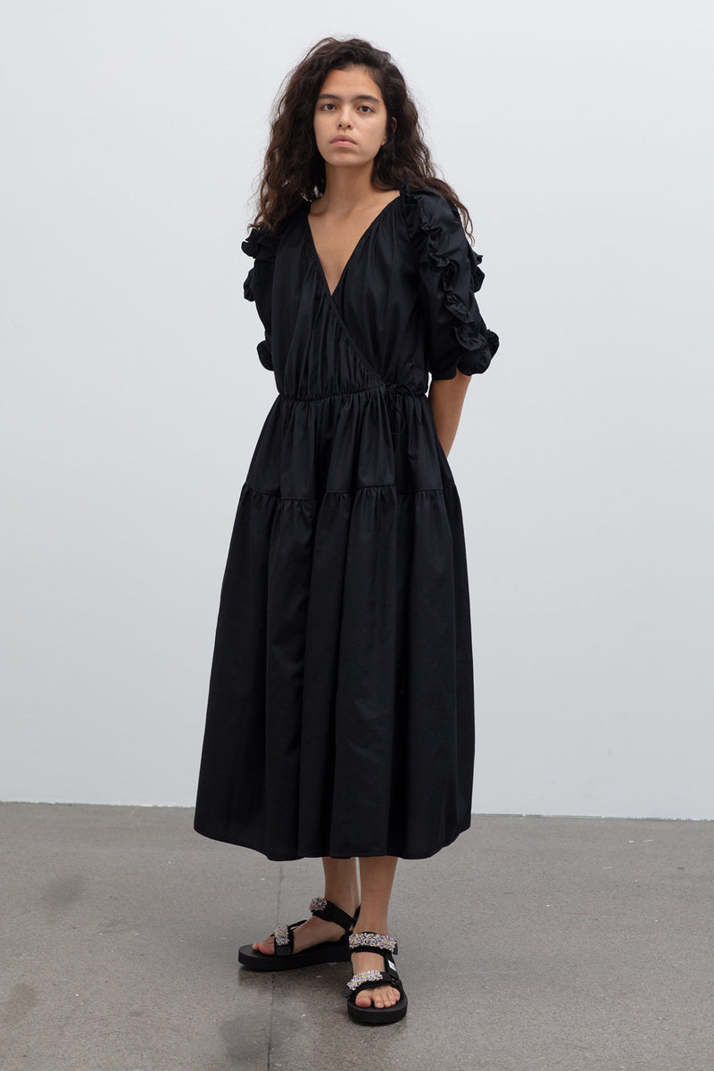 CECILIE BAHNSEN Kate Wrap Dress