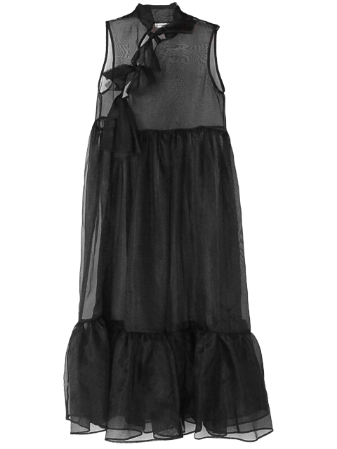 KAMPERETT Mae Sheer Organza Dress
