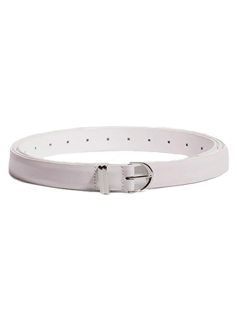KHAITE Brooke Double Wrap Belt - Cream