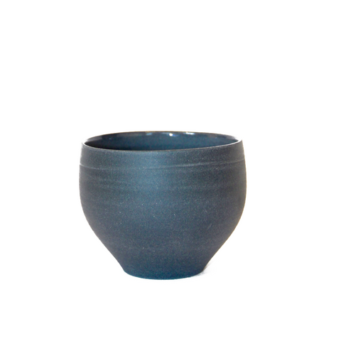 LILITH ROCKETT CERAMICS Dark Grey Porcelain Bud Cup