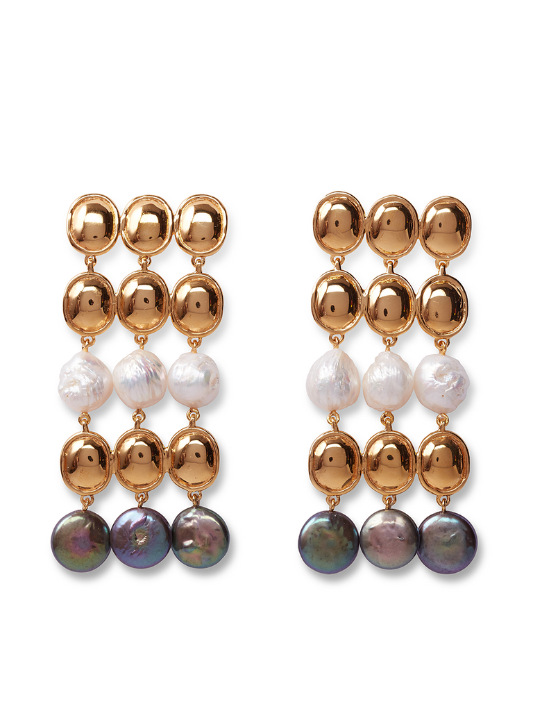 LIZZIE FORTUNATO Empress Earrings