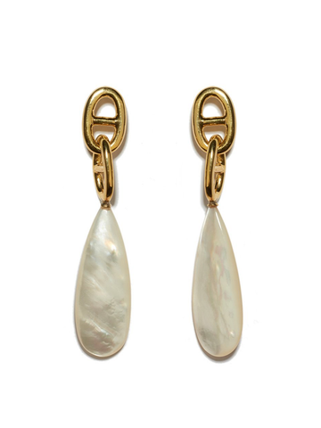 LIZZIE FORTUNATO Grotto Drop Earrings