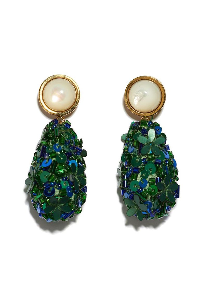 LIZZIE FORTUNATO Roman Party Earrings