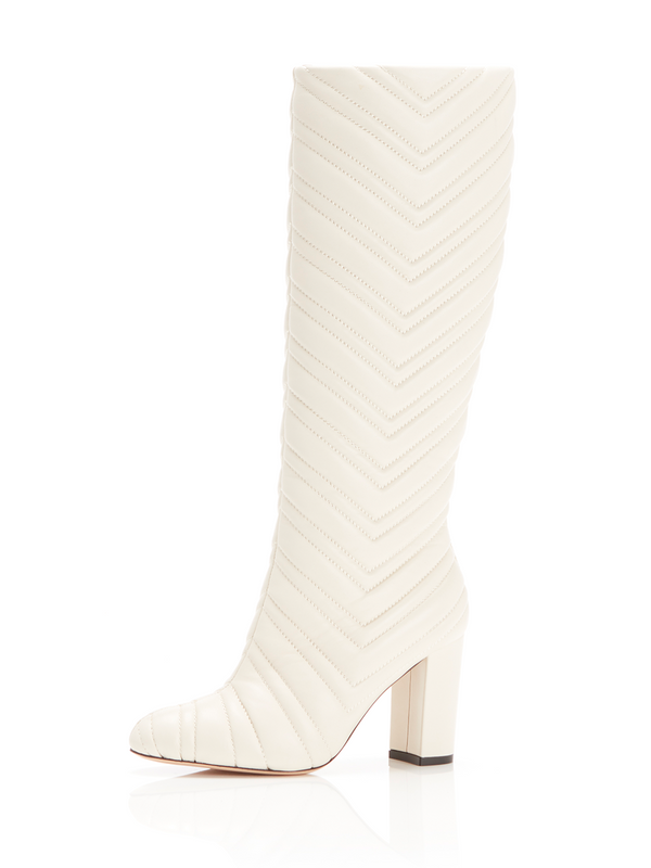 MARION PARKE Dion Quilted Leather Tall Boot