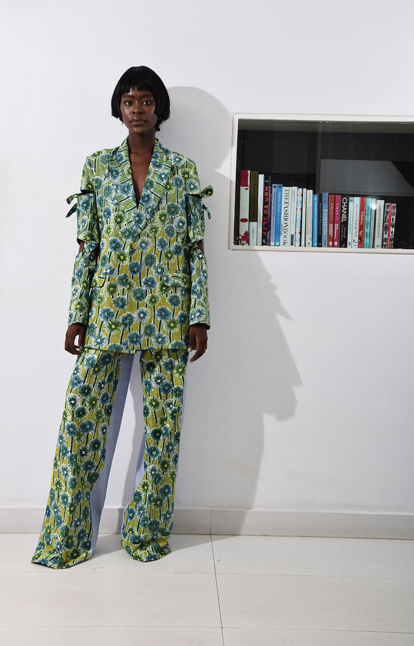 LISA FOLAWIYO Dandy Floral Wide-Leg Pants